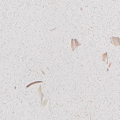 Кварцевый камень Vicostone White Shells BQ 370