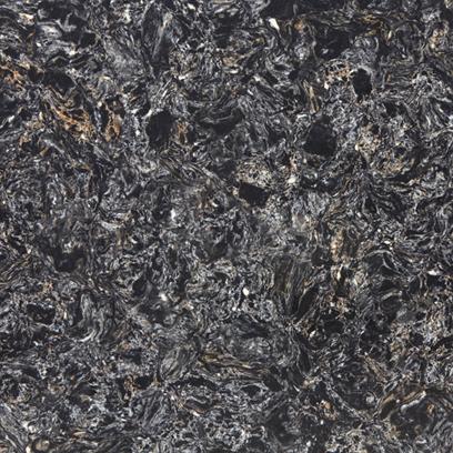 Кварцевый камень Vicostone Cosmic Black BQ 9427